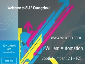W-ROBOT Welcome to SPS – Industrial Automation Fair (SIAF) Guangzhou!